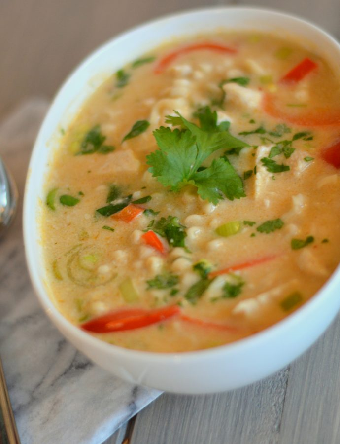 SPICY KREMET THAI-SUPPE